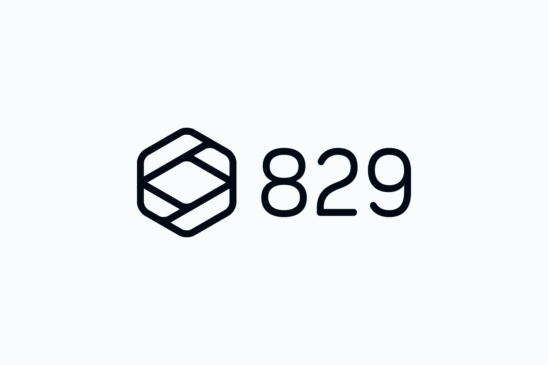 829 logo