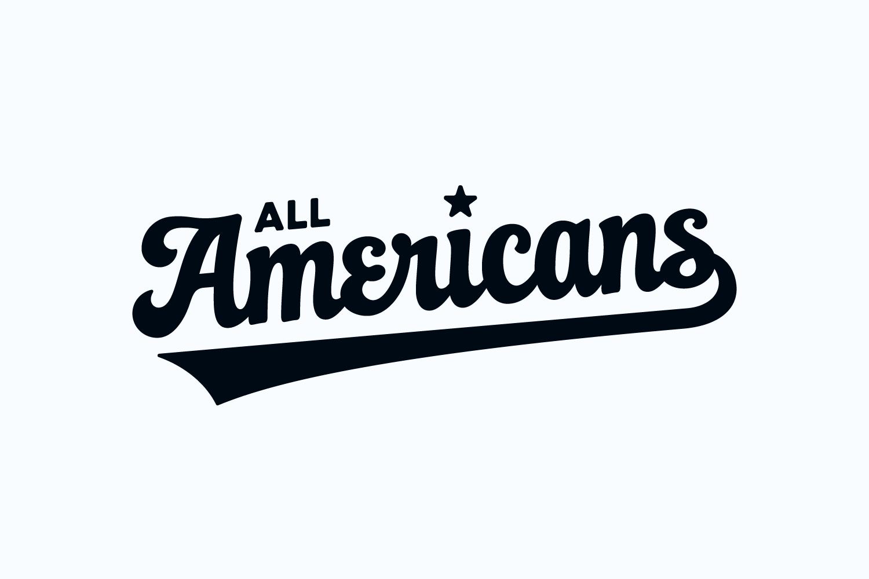 All Americans wordmark
