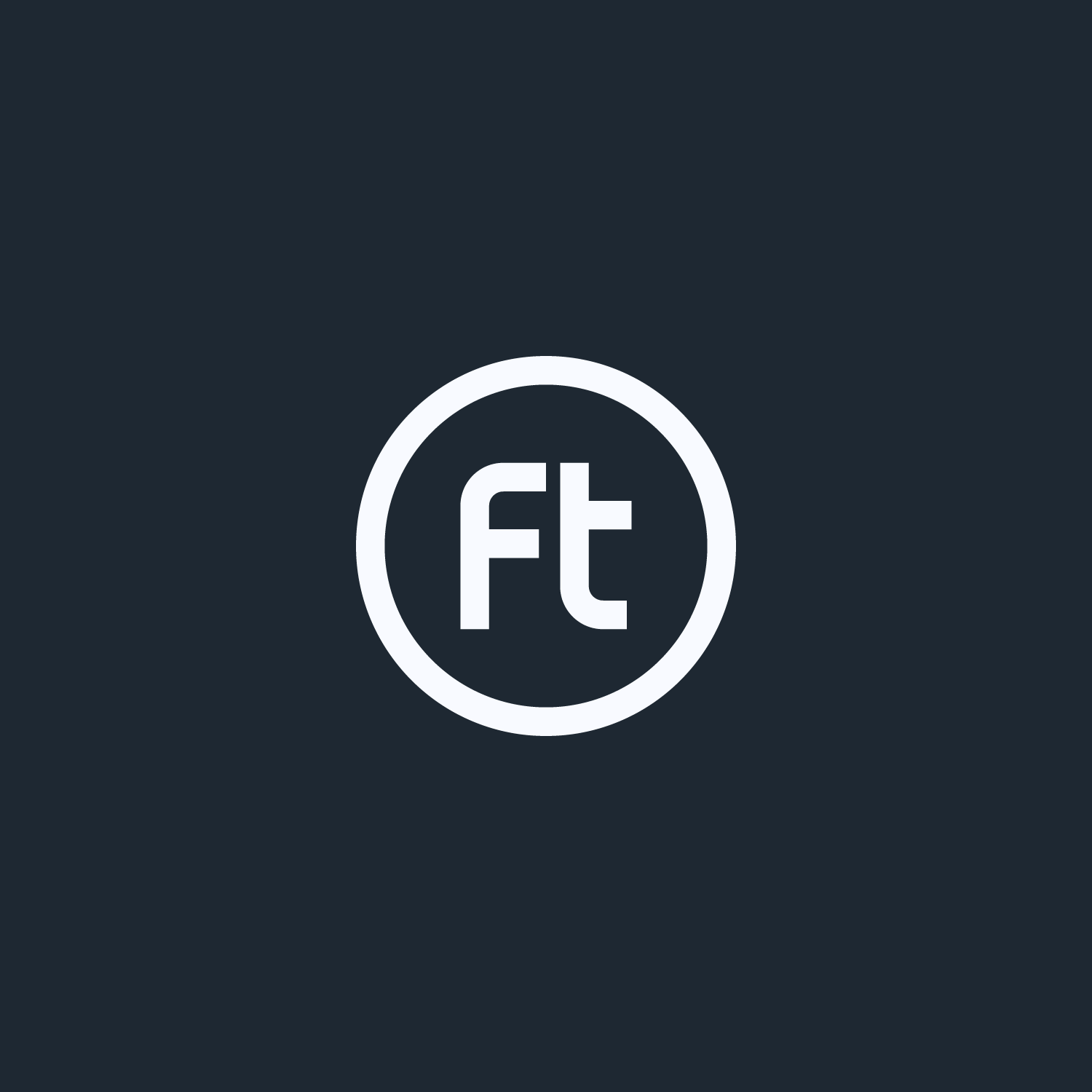 White Flock Together monogram on a charcoal background