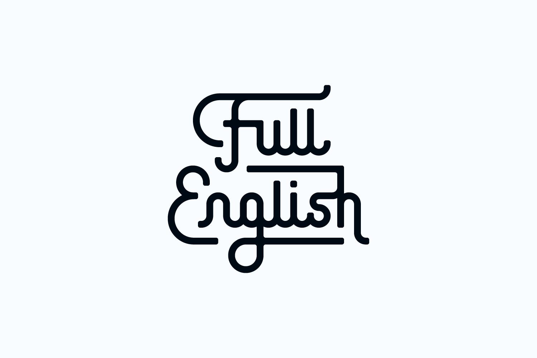 Full English wordmark
