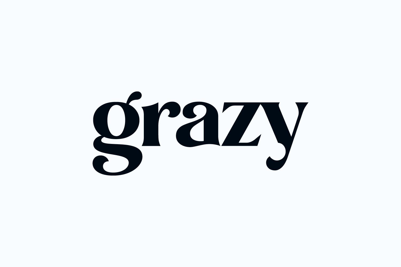 Grazy wordmark