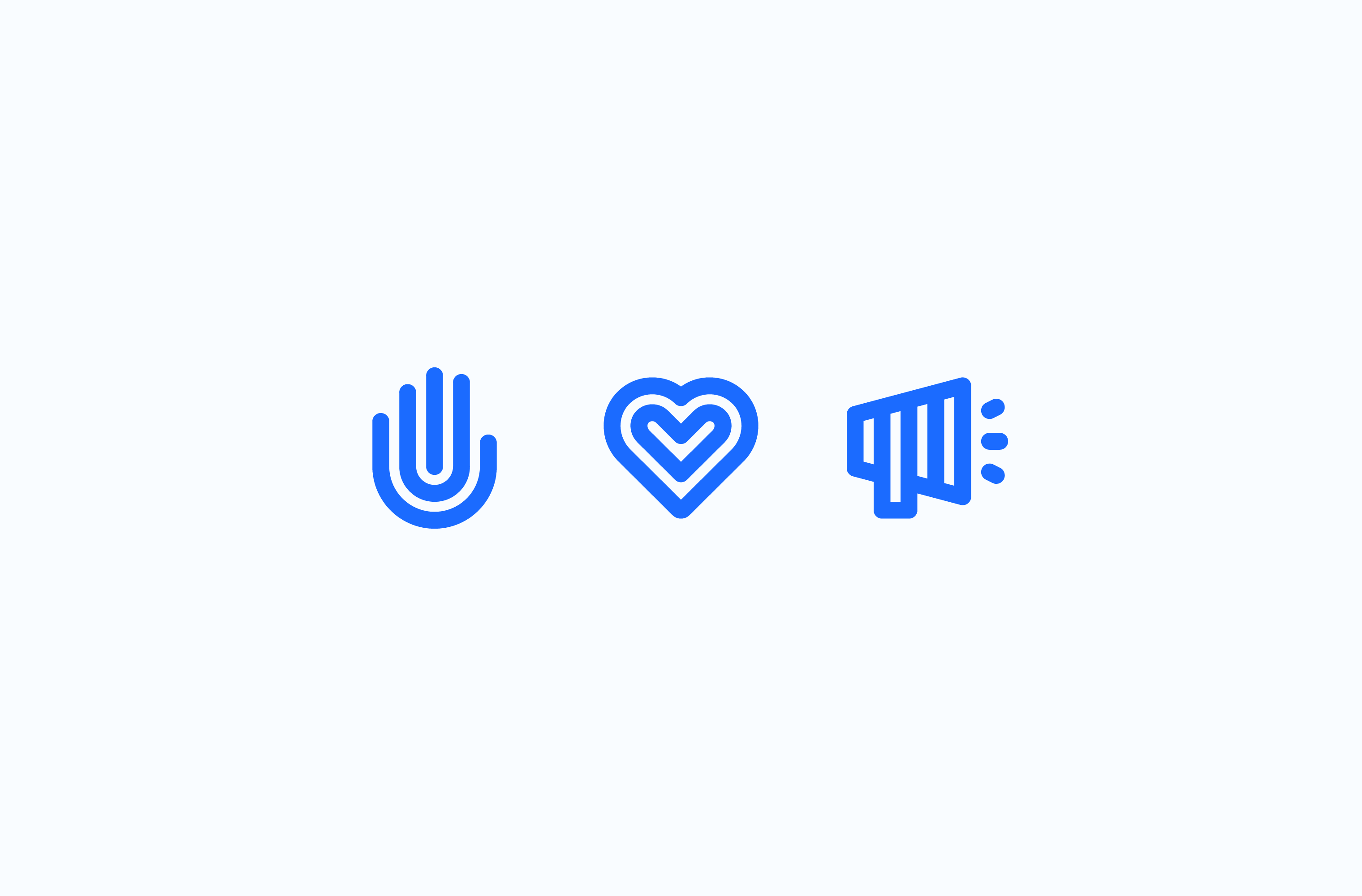 Heading Home give back icon set