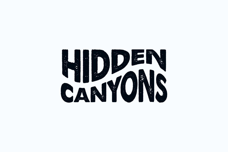Hidden Canyons wordmark