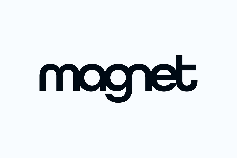 Magnet wordmark