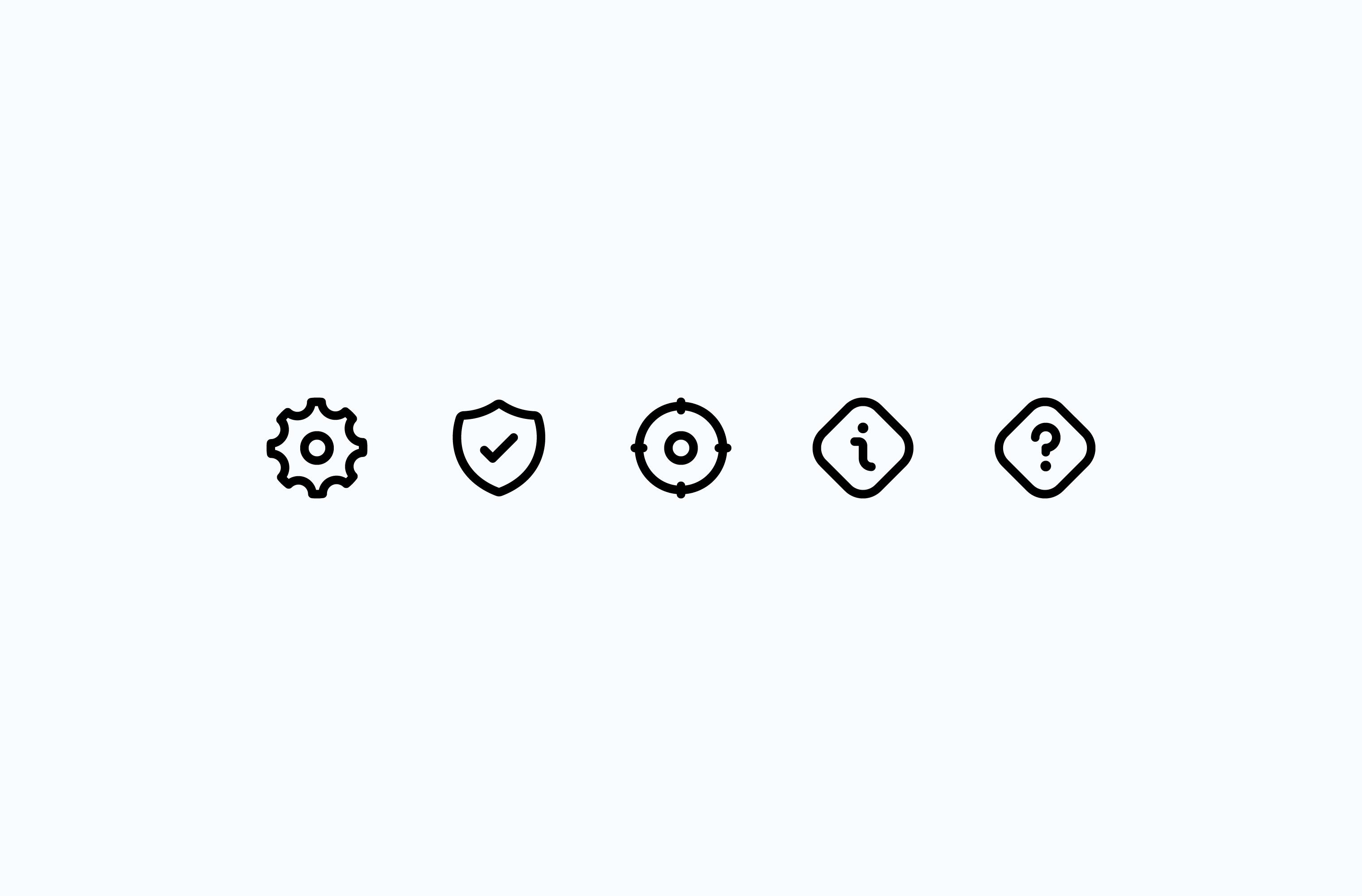 Nomadic app icon set