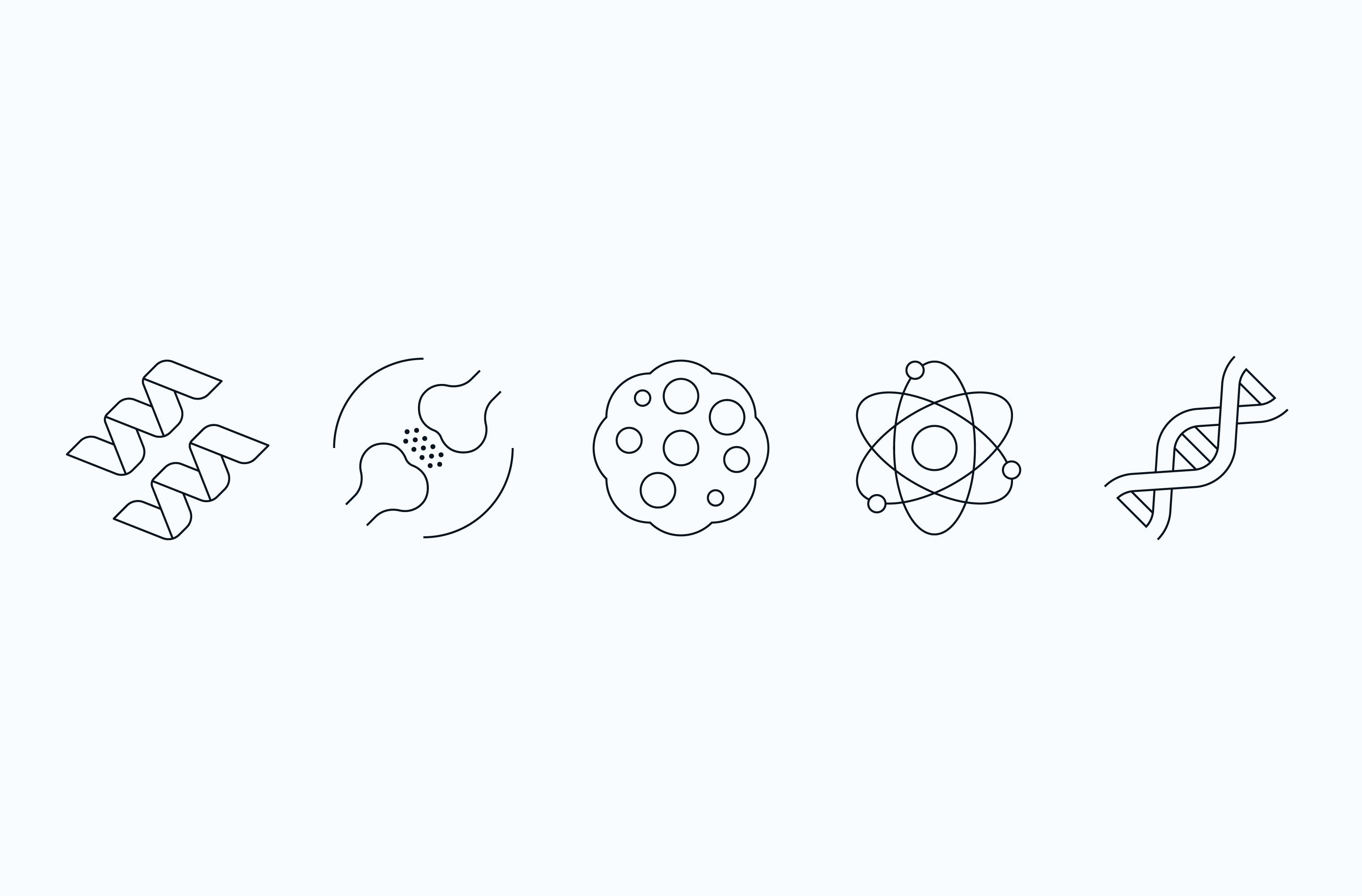 NYGC scientific icon set