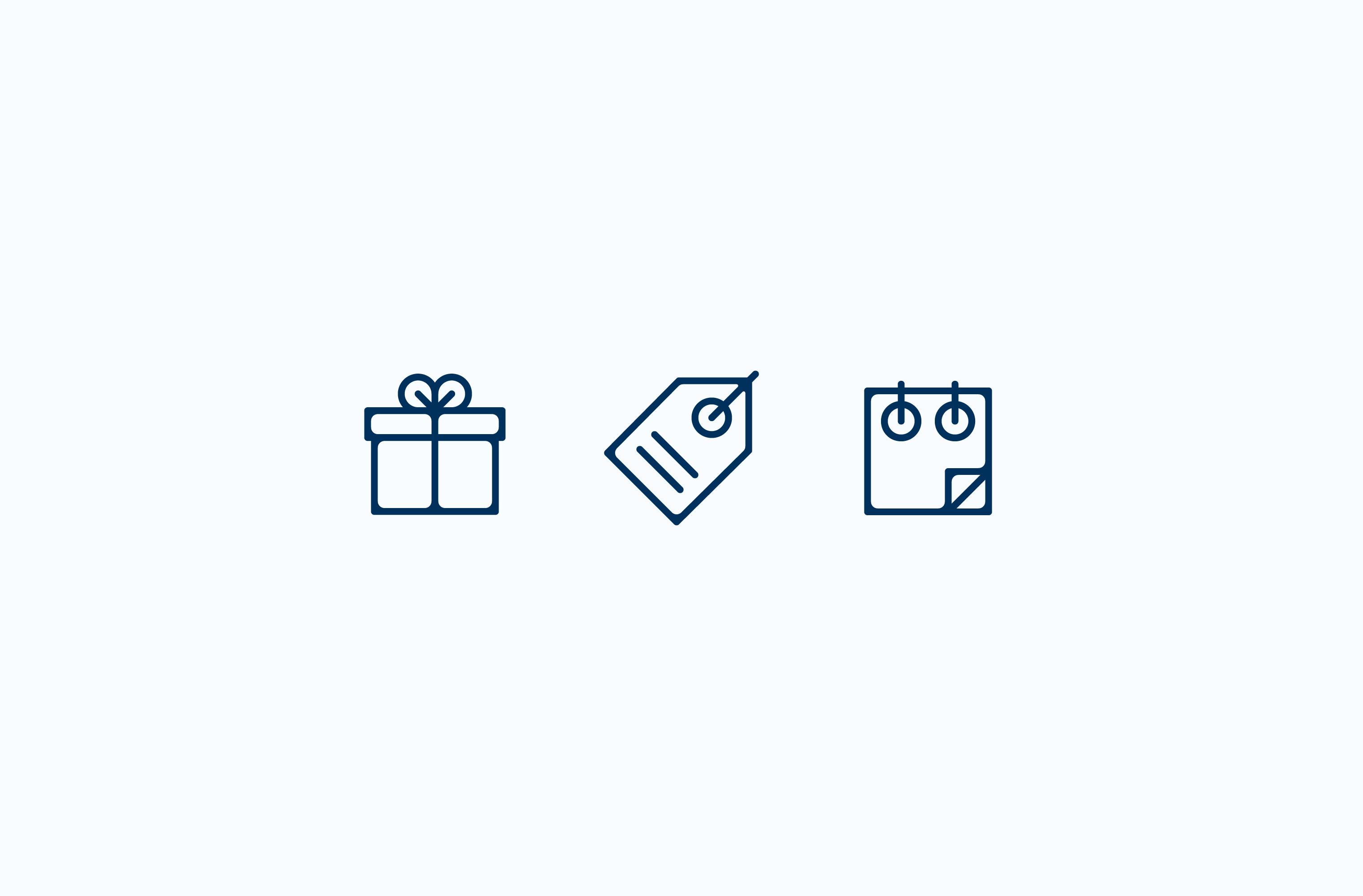 Owl's Nest resort icon set