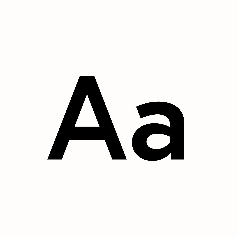 Black Europa Bold type specimen on a white background for Vala