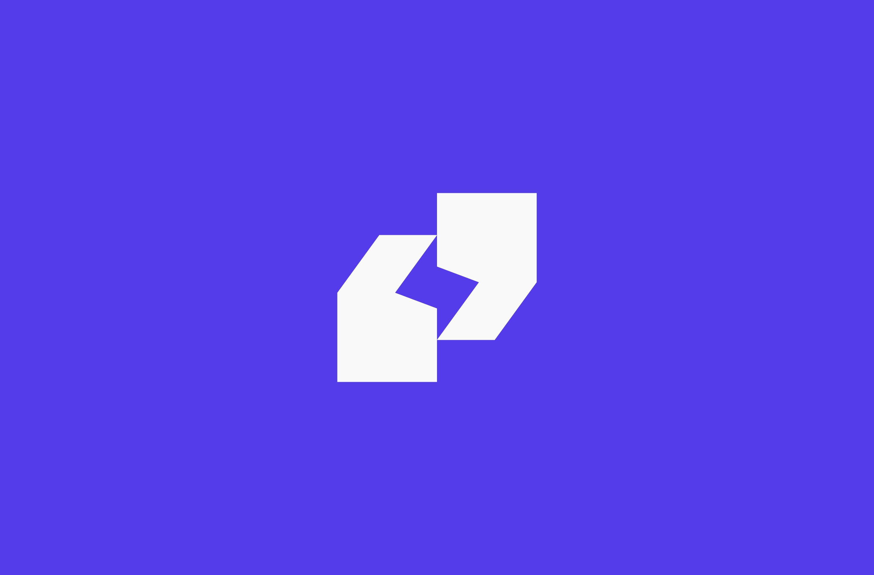 White Lightning Talks symbol on a purple background